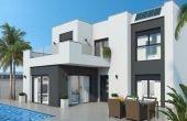 036, Detached new build villa with private pool in Ciudad Quesada