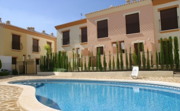 Development of beautiful 2 bed 2 bath townhouses prices from €93.500