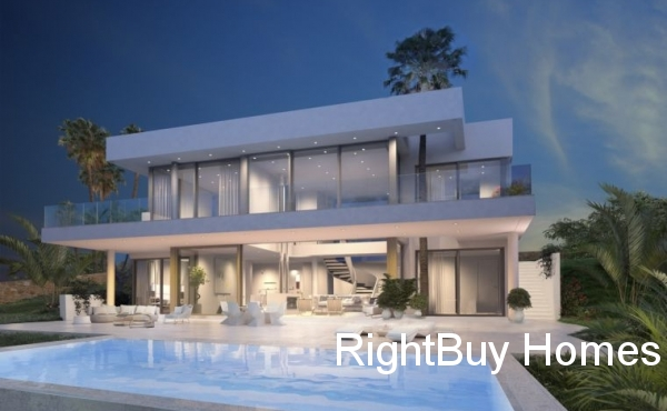 4 Bed 4 Bath New Build Villa With Panoramic Views