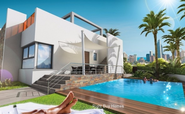 New Build Luxury Houses In Benidorm Prices Start From €195.000