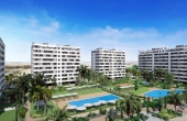 017, Luxury beach front apartments in Punta Prima, Alicante, Spain