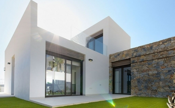 Luxury new build villas for sale in La Finca golf, Algorfa