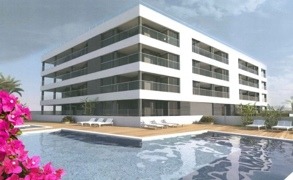 Stunning beach front new build apartments in La Mata