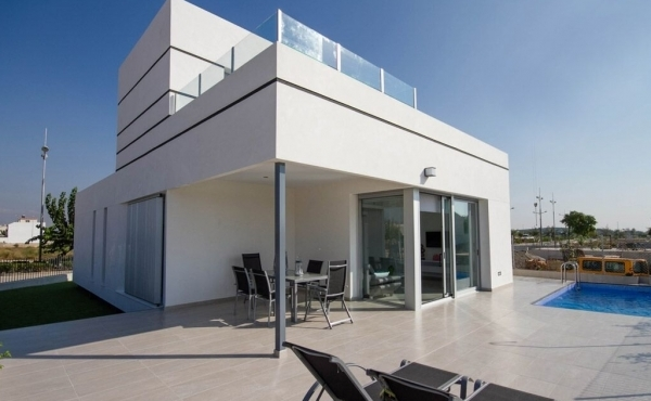 Luxury new build villas for sale in Dolores, Alicante