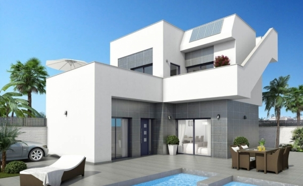 New build villas for sale in Benijofar, Alicante