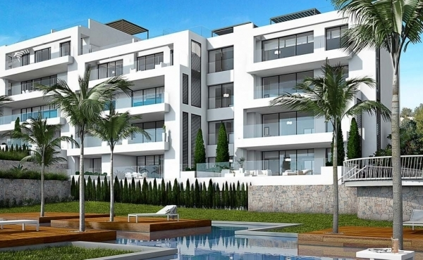 Premium new build golf apartments for sale in Las Colinas, Alicante