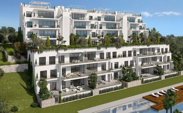 Premium new build golf apartments for sale in Las Colinas, Alicante Prices Start From €298.000