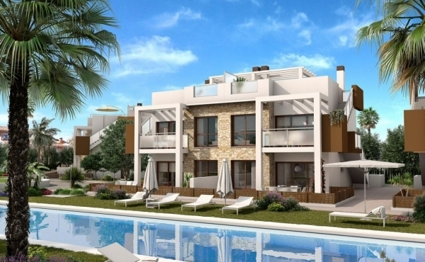 Top Floor New Build Apartments In Los Altos, Torrevieja