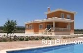 Ref: ES053, Beautiful new build villas for sale in Pinoso, Alicante
