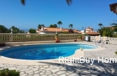 Ref: ES076, Beautiful detached villa with sea views for sale in Denia, Alicante