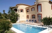Ref: ES077, Majestic villa with sea views for sale in Denia, Alicante