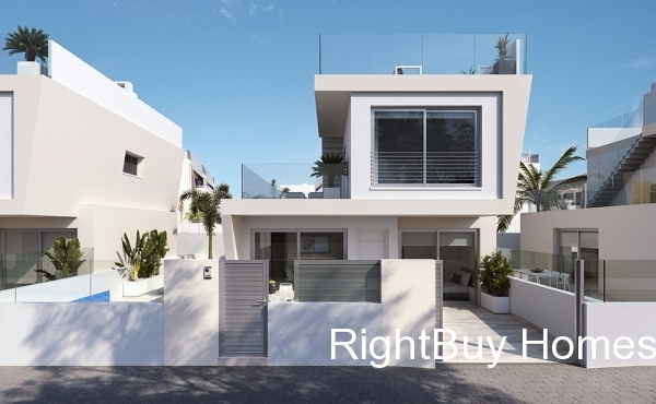 Luxury 3 bed 3 bath villas located 250 metres from the sandy beaches. Prices from €399,900