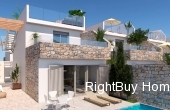 Ref: ES088, luxury development with 3 bed 2 bath villas with private pool