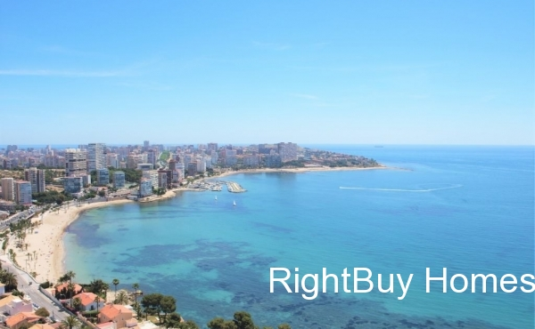 Super luxury apartment with sea views for sale in Alicante