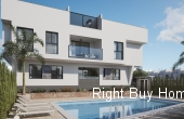 Ref: ES099, 3 bed 2 bath new build apartments only 100m from the beach!!