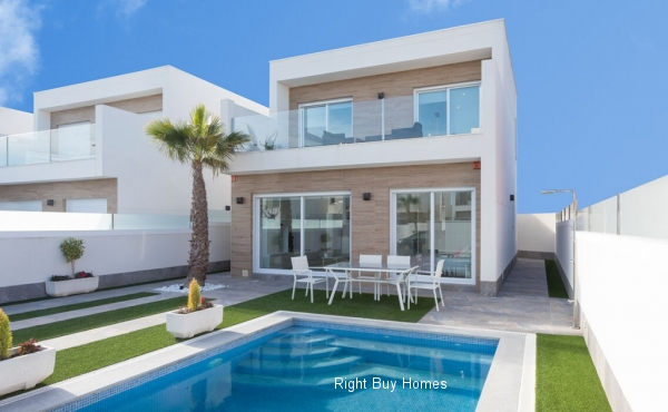 3 Bed 2 Bath New Build Villas In San Pedro Del Pinatar