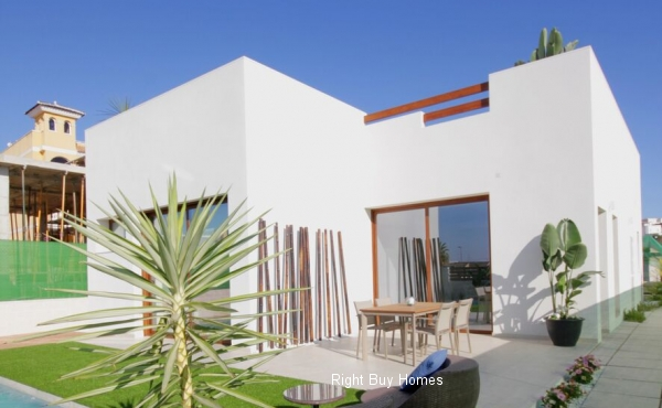 3 Bedroom New Build Villa Prices Start From €299.900