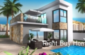 Ref: ES028, New Build Detached VIllas In Benidorm Prices Start From €490.000