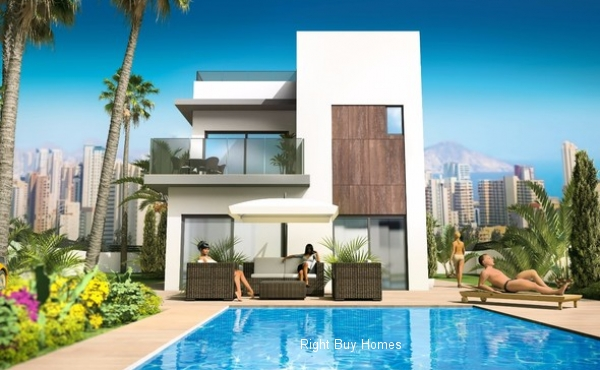 New Build Luxury Houses In Benidorm Prices Start From €420.000
