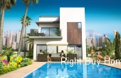Ref: ES024, New Build Luxury Houses In Benidorm Prices Start From €420.000