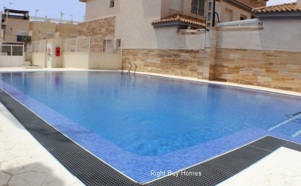 Duplex with solarium next to the natural park and near beaches in San Pedro del Pinatar
