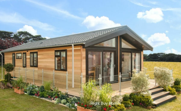 Luxury lodges in South West Scotland. Prices from £149,950