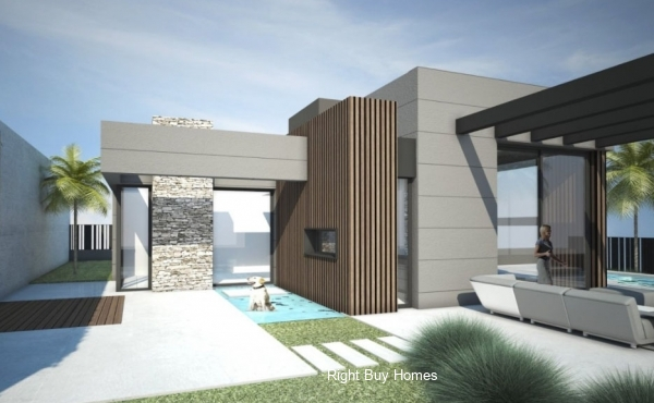 3 Bed 2 Bath modern villa in Polop, Alicante. €377,500!