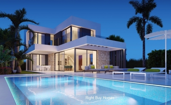 4 Bed 4 Bath Luxury Villa in Finestrat, Alicante. €560,000!